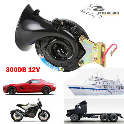 Bicycles and Boats 150DB 1PCS Motorcycles Super Train Horn for Trucks Waterproof Loud Air Electric Snail Horn for Trucks
