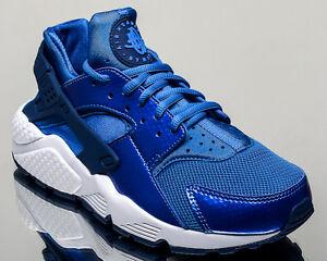 Nike WMNS Air Huarache Run women lifestyle casual sneakers NEW blue spark