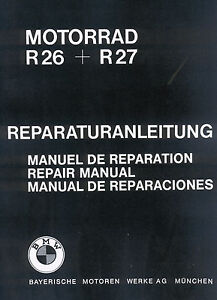 BMW-Werkstatthandbuch-Reparaturanleitung-Instandsetzung-R-26-und-27-R26-R27