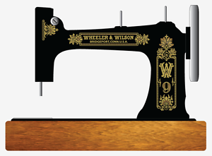 Antiques Provided Wheeler & Wilson D9 Sewing Machine Restoration Decals Gold Metallic 41096 Relieving Rheumatism And Cold