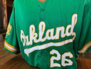 best cheap a32c4 cf92f Details about Oakland A's Matt Chapman Replica Jersey sz XL SGA Athletics  not Bobblehead