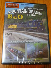 Charles Smiley DVD #D-136 Mountain Grades of the B&O 1 Hour 33 Min.