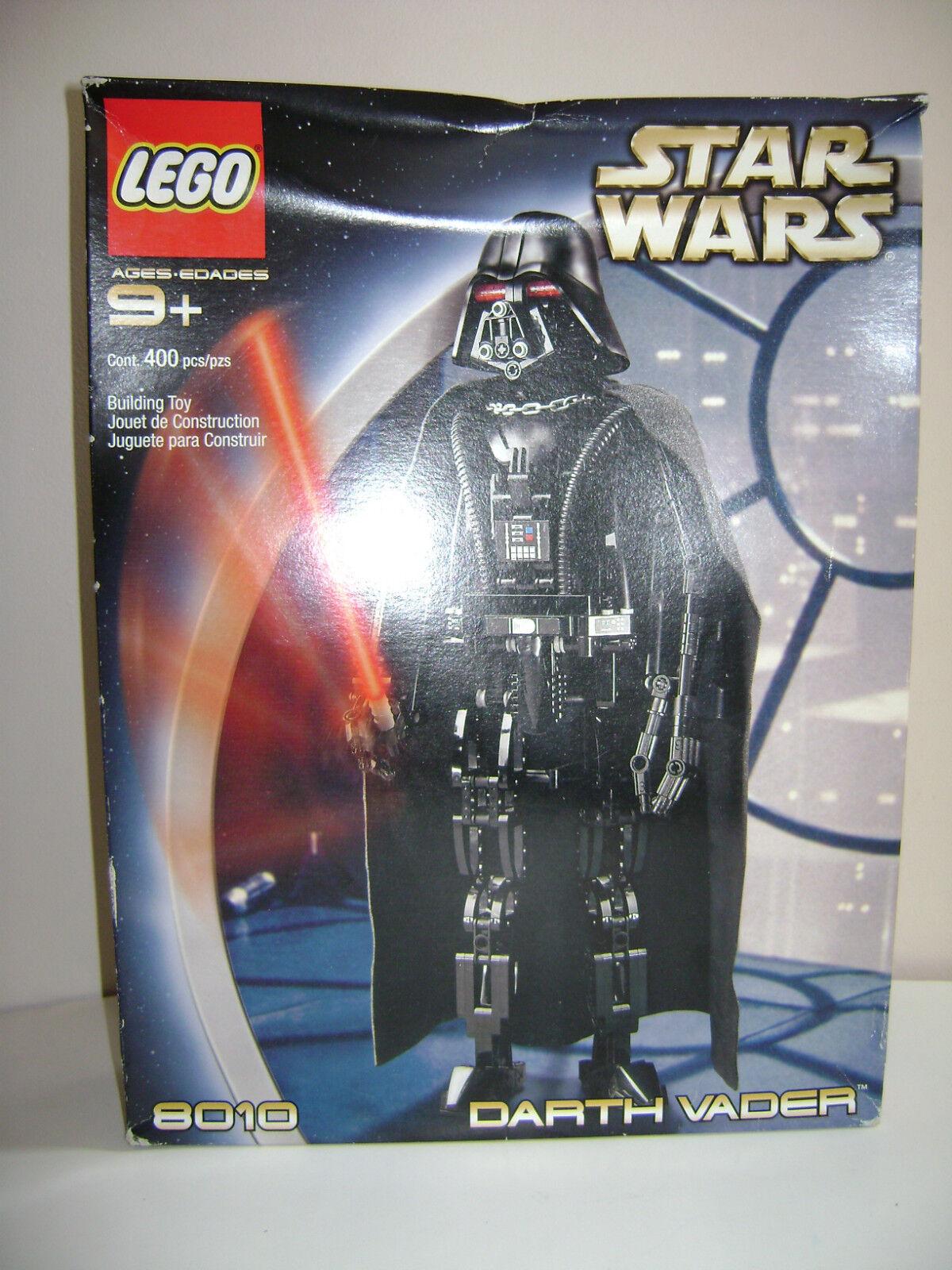 Nouveau LEGO STAR WARS 8010 Retirouge 2002 COMPLET RARE Dark Vador SEALED IN BOX