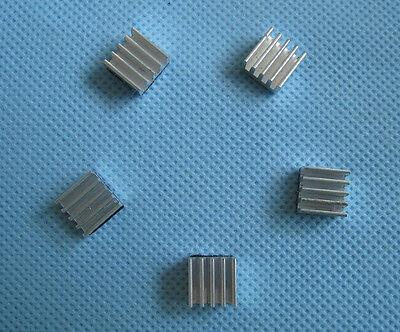 Computer Components & Parts Fans, Heat Sinks & Cooling 100 Pcs Heatsink For Reprap Pololu A4983/a4988 Stepstick 9x9x5mm 3m Adhesive Large Assortment