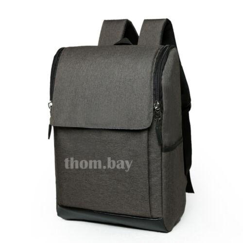 Men Large Canvas Backpack Rucksack Shoulder Travel Camping Laptop Bag Satchel