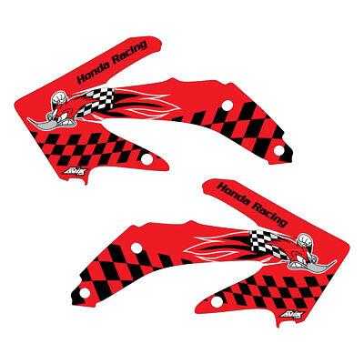 Honda CRF450 2005-2008 Woody graphics kit red highlight FREE SHIPPING!!!