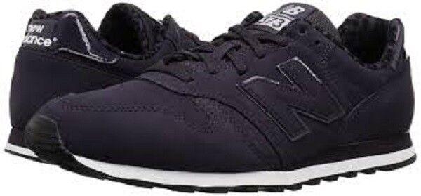 New Balance Women's 373v1 Sneaker, Purple/Black, 8 B US