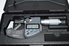 Mitutoyo 293 335 Digital Outside Micrometer Inchmetric Friction Thimble