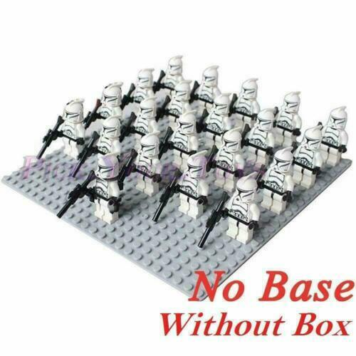 21PCS//LOT Star Wars Clone Trooper Armas Gun Building Blocks Fit Lego Toys