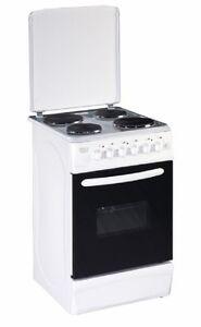 pkm eh4 50 ga elektroherd standherd mit deckel wei 50cm. Black Bedroom Furniture Sets. Home Design Ideas
