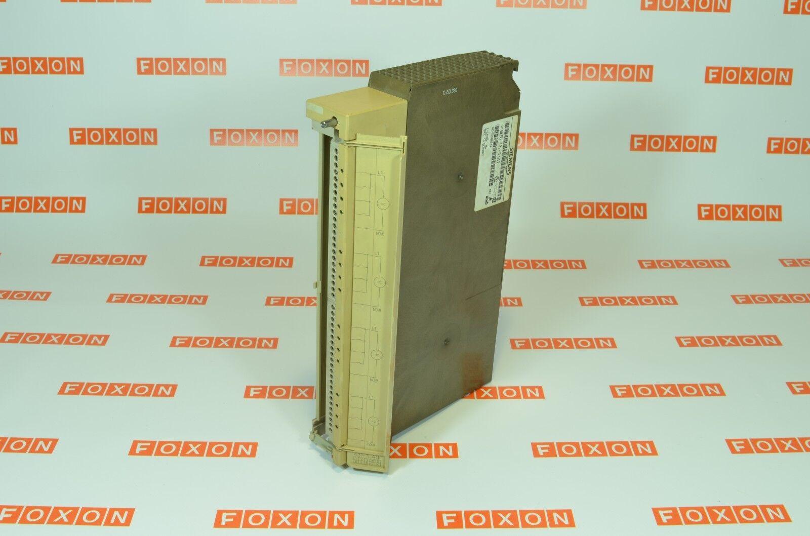 SIEMENS 6ES5431-7LA11 SIMATIC S5, Digital input 431 - USED