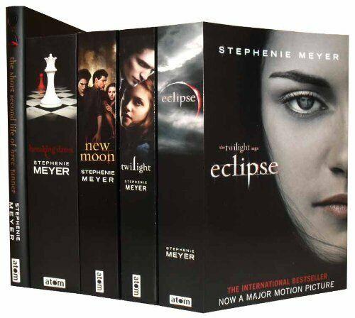 Twilight saga 5 Books set by Stephenie Meyer (TWILIGHT,NEW MOON) NEW Paperback