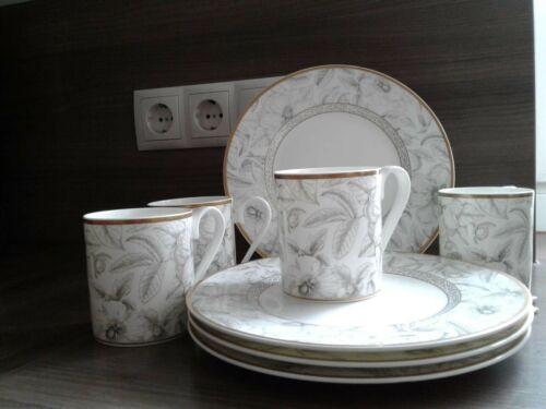 1 Becher + 1 Teller Villeroy /& Boch Kimono Chateau Collection je Set 60 €