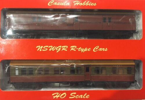 Casula Hobbies CR+EHO Car Set CR1386+EHO1464 Tuscan /& Russet//Tuscan Red