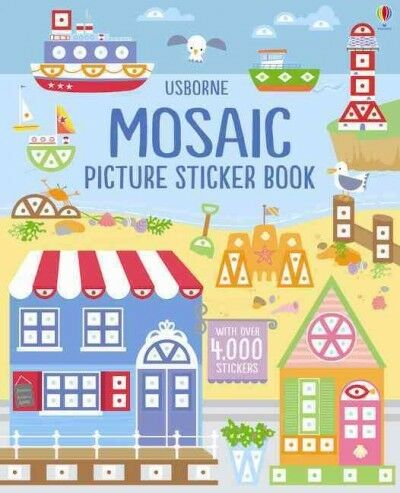 Mosaic Picture Sticker Book