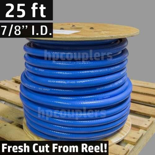"25 ft 7//8/"" ID FlexFab 5526 Blue Silicone Heater Hose 22mm 350F Radiator Coolant"