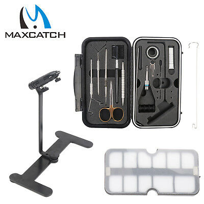 Compact Fly Tying System Fly Tying Tool Set Fishing Tackle Kit Great For Travel