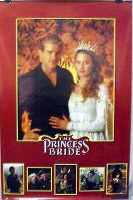 "C-3000 23/"" x 34/"" Rolled! Vintage Original Princess Bride Movie POSTER"