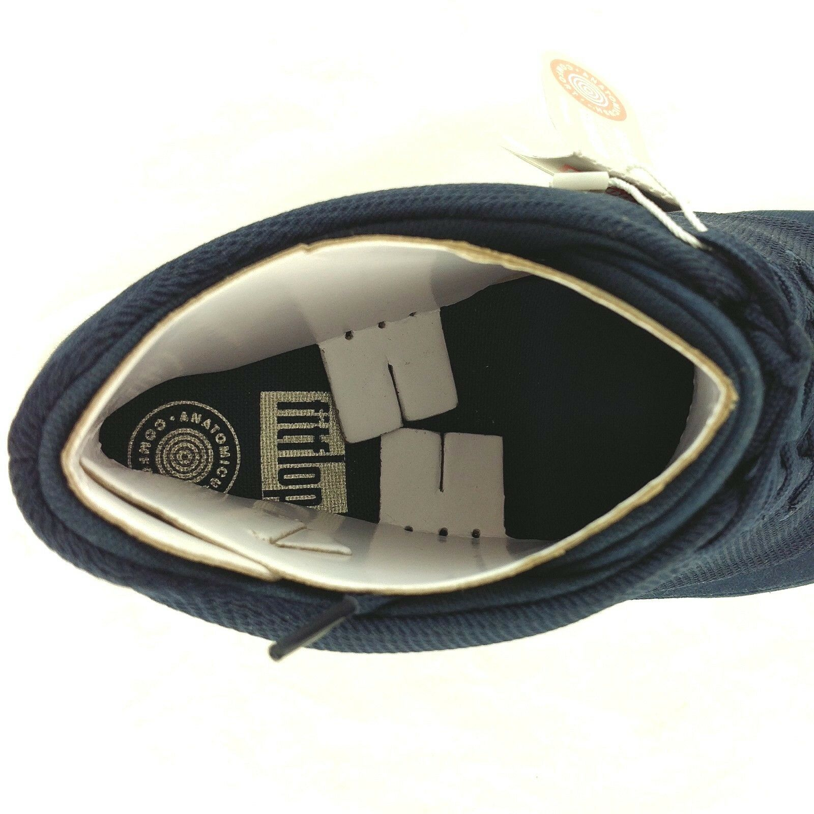 Fitflop,  Herren Schuhes, Sporty Canvas, Pop High Top in Canvas, Sporty Midnight Blau, UK 10 EUR 44 8690b6