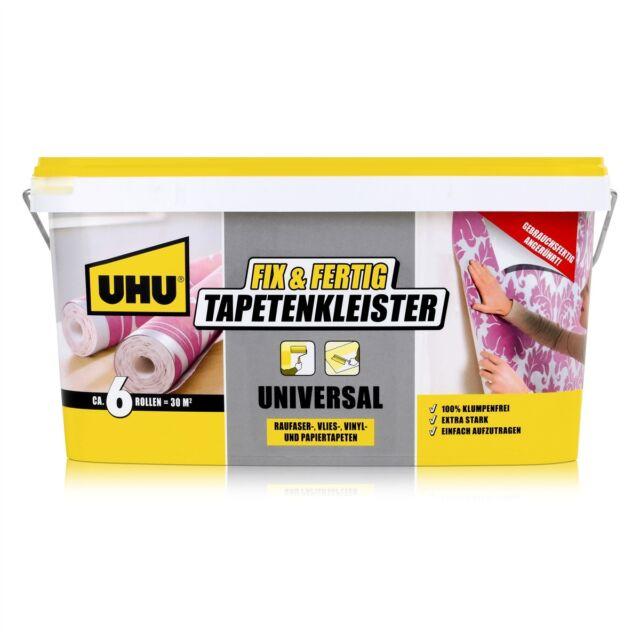 Uhu Fix Fertig Tapeten Kleister 52975 Universal 5kg 1er Pack Ebay