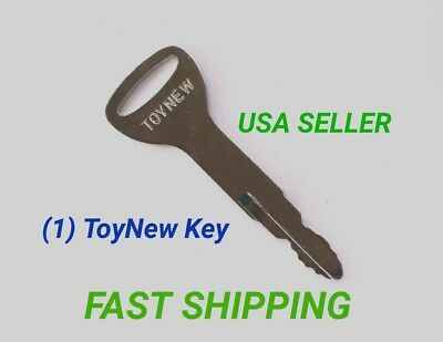 New Style replaces A62597 5 Toyota Forklift /& Equipment Ignition Keys