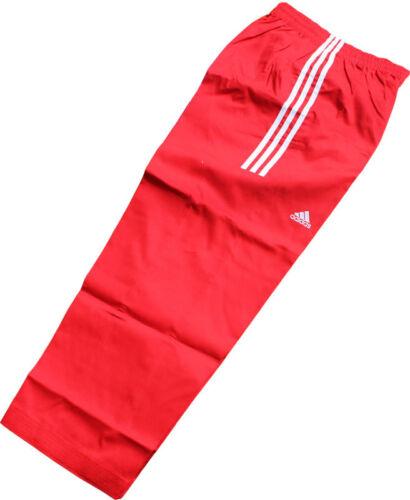 Adidas Taekwondo 3-Stripe Dobok Pants//KARATETO//martial arts//Tranning Pants//RED