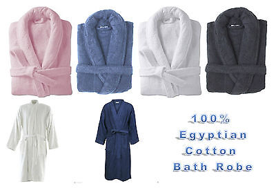 Vereinigt Bath Robe 100% Egyptian Cotton Terry Towelling Robe Gown Luxury And Super Soft Perfekte Verarbeitung