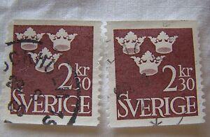 Sweden Stamp 1964 Scott 660 A56 2 30 Kr Set of 2