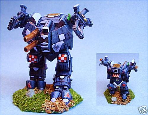 battletech painted Mangonel battlemech SJ