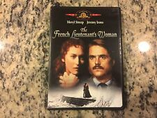 THE FRENCH LIEUTENANT'S WOMAN VERY GOOD DVD 1981 MERYL STREEP, JEREMY IRONS OOP!