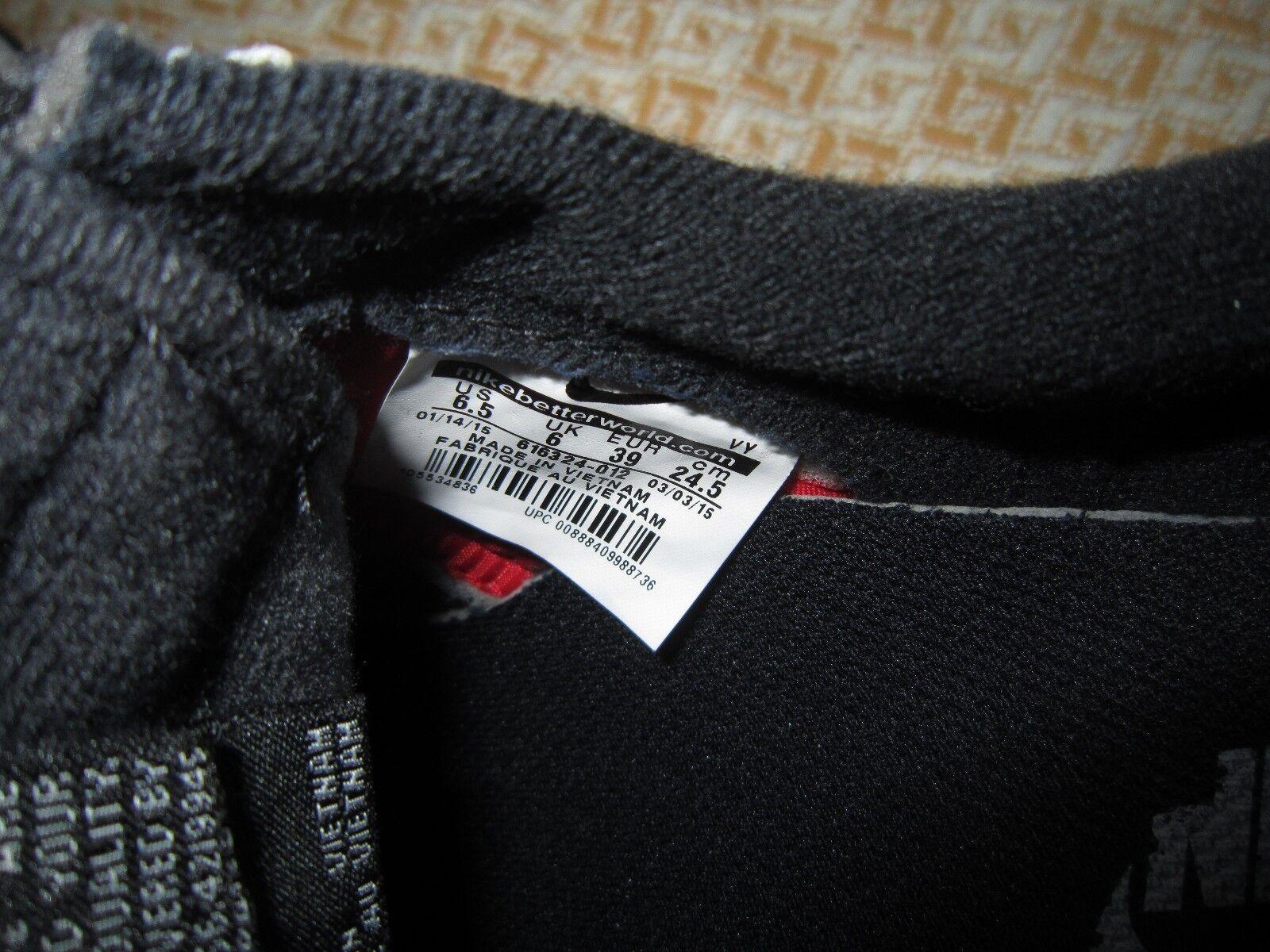 Nike air pelle nero di pelle air di camoscio reale molto comodo donne formatori bnwt 151e67