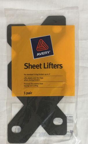 Avery Sheet Lifters Black 2//Pack 518336 75225