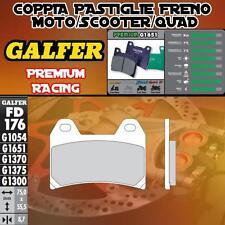 FD176G1651 PASTIGLIE FRENO GALFER PREMIUM ANTERIORI MOTO GUZZI EV STONE 02-