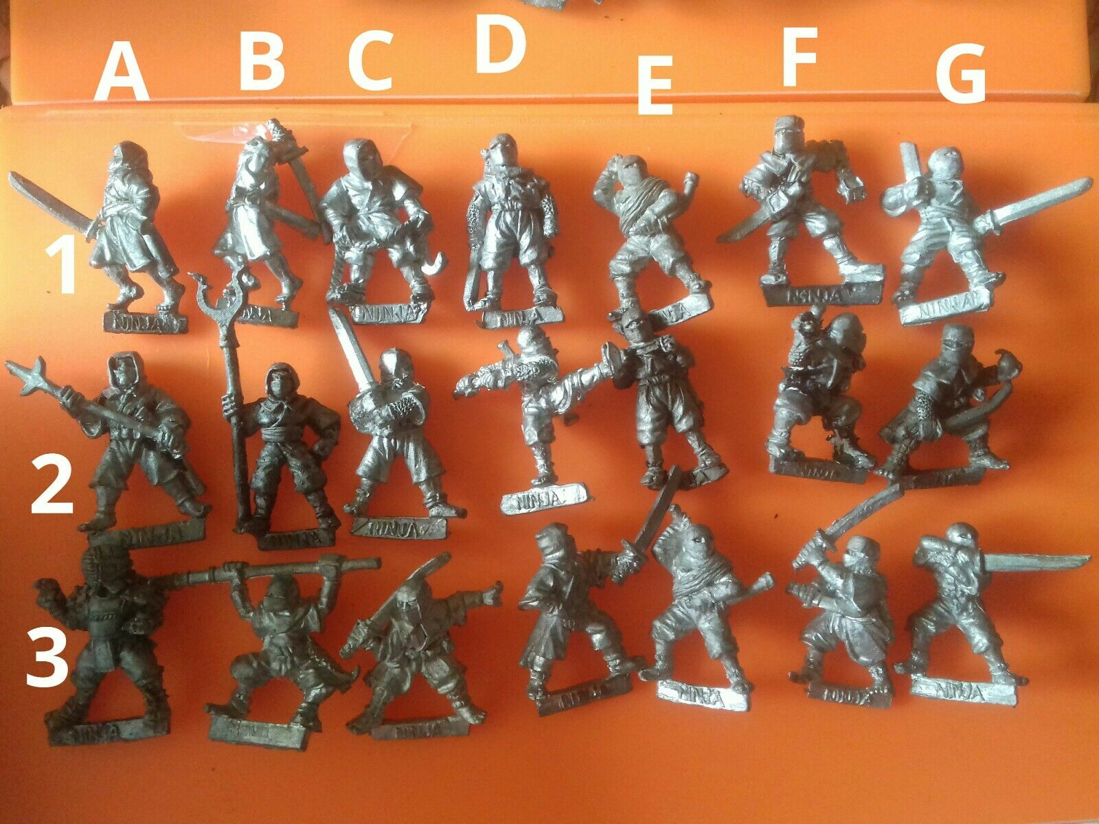 21x OH1 ninja oriental hero citadel GW games workshop heroes assassins ninjas