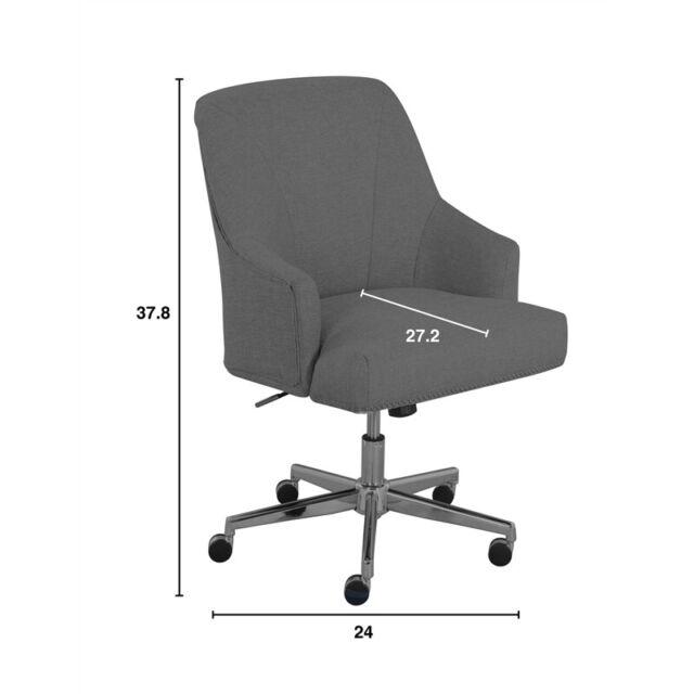 Openbox Serta Leighton Home Office Chair Medium Gray For Sale Online Ebay