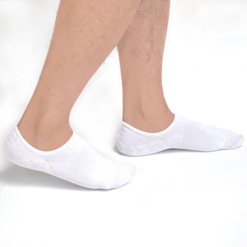 Herren Socke Bootsocken unsichtbar rutschfest Kurzsocken Unifarben Sommer Jungs