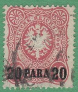 Germany Offices in Turkey #2 used 20p on 10pf 1884 cv $75