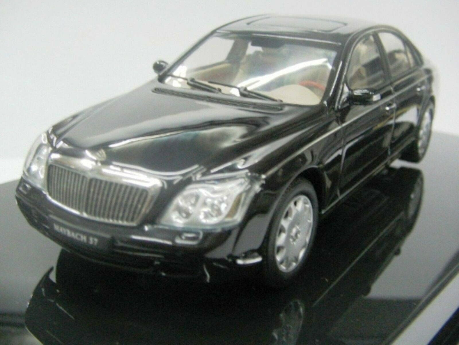 Wow extrêmement rare MAYBACH 57 V12 2003 noir 1 43 Auto Art-MINICHAMPS-W140 -- S600