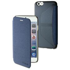 Muvit Easy Custodia Folio carta Denim Blu per Apple iPhone 6 Plus/6s Plus