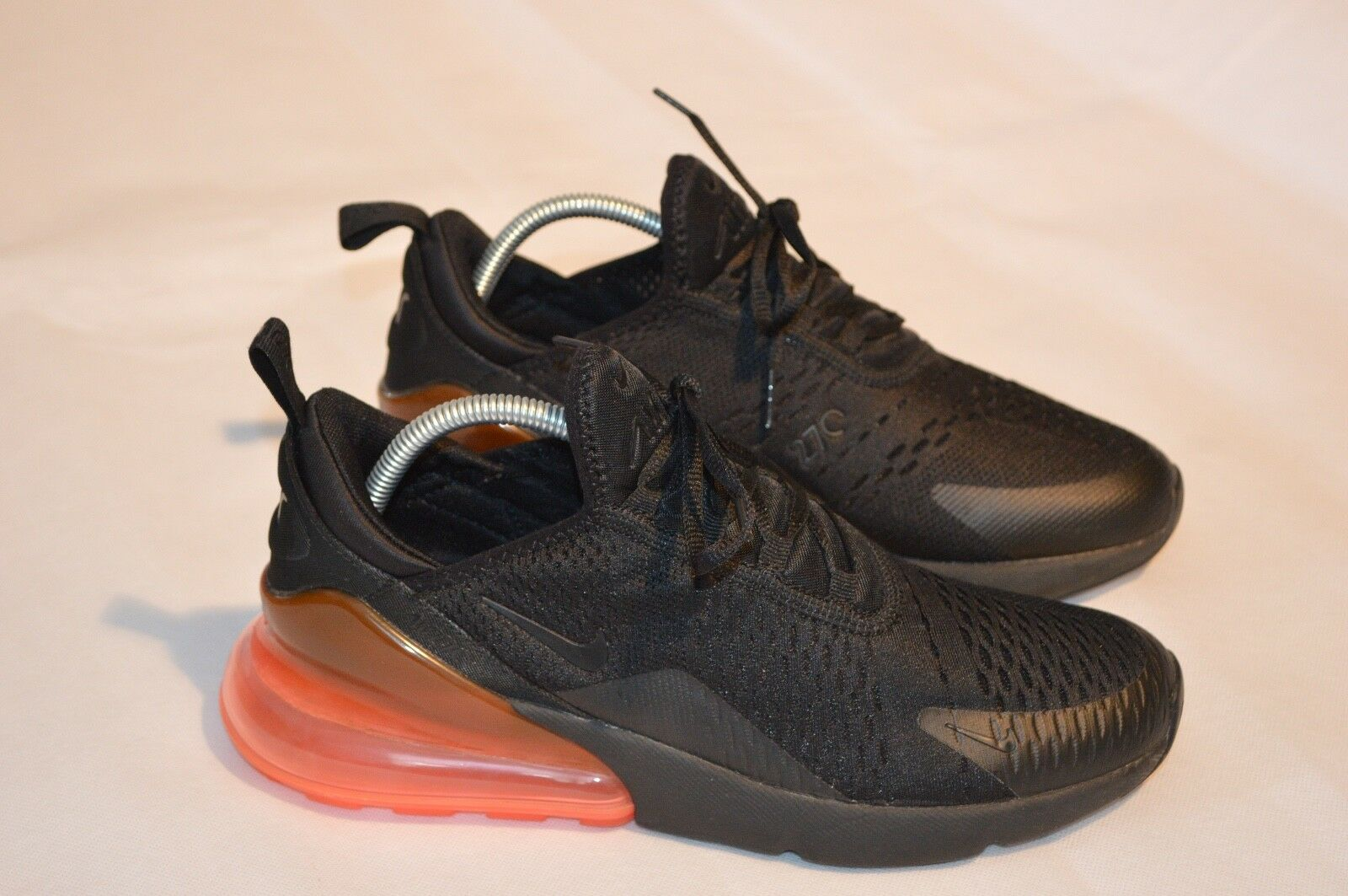 Nike Air 270 Hot Punch Noir/Rose Lifestyle Gym Baskets Homme Taille UK 8