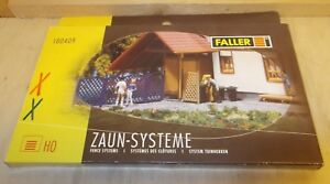 Faller-H0-180409-divers-Cloture-Systeme-e-neuf-emballage-d-039-origine