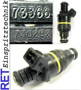 Buse d/'injection Bosch 0280150714 BMW 530 I 730 I nettoyé /& examiné