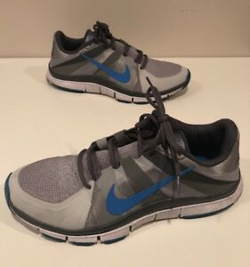uk availability 076dc 0673e Details about Nike Free 5.0 Mens Gray/blue Athletic Running Shoes Size 12