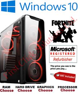 Ultra-Rapido-i5-i7-Pc-Computadora-de-escritorio-para-juegos-SSD-2TB-16GB-Ram-Gtx-1660-Windows-10