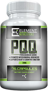 PQQ-PYRROLOQUINOLINE-QUINONE-75-ct-x-20mg-by-Element-Nutraceuticals