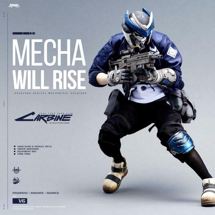 1 6 Devil Toys -  Carbine - Mecha Will Rise - BNIB