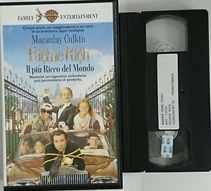 Richie-Rich-Il-piu-ricco-del-mondo-VHS-Warner-Home-Video-Usato-edizione-pr