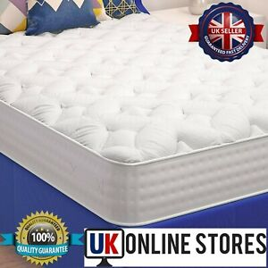 New Memory Foam Mattress Smooth Sprung Single 3ft Double 4ft6 DOUBLE 5ft Comfort