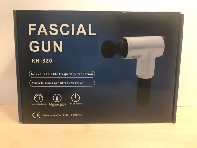 Fascia Massage Gun Percussion Massager Muscle Vibration Relaxing Therapy Tissue