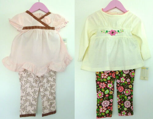 2 tlg Baby set LA Shirt mit Leggings Hose,Tunika,Top,Langarmshirt,74 80 86 98